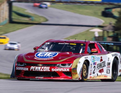 Lawrence Loshak Goes Flag-to-Flag in Trans Am Series at VIR