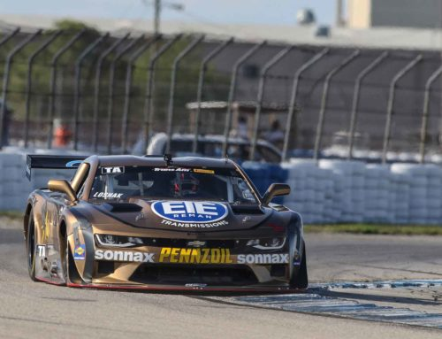 Loshak Flag to Flag in Sebring Trans Am Opener